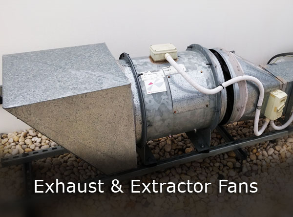 Exhaust and Extractor Fan Rewinds and Repairs
