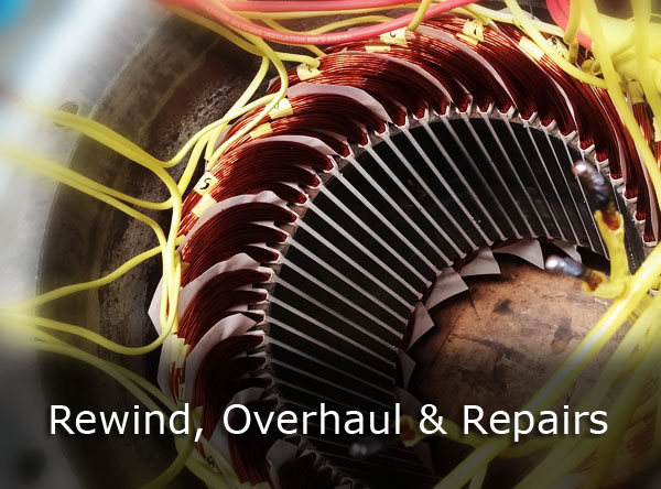 Electric Motor Rewinds and Repairs