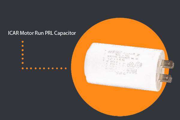 ICAR PRL Motor Run Capacitors