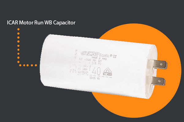 ICAR WB Motor Run Capacitors